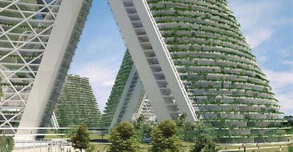 Fachadas Vegetales Inteligentes con plantas y vegetacion