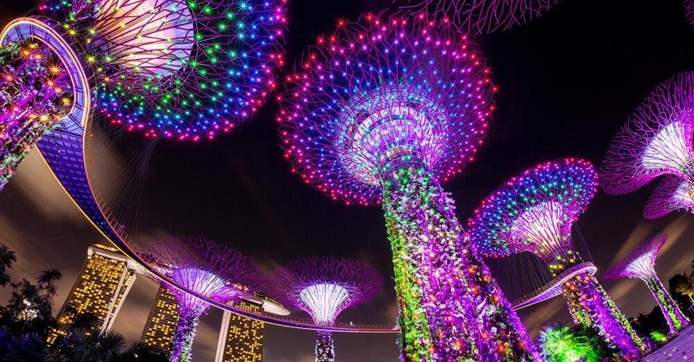Jardines de la Bahía Singapur