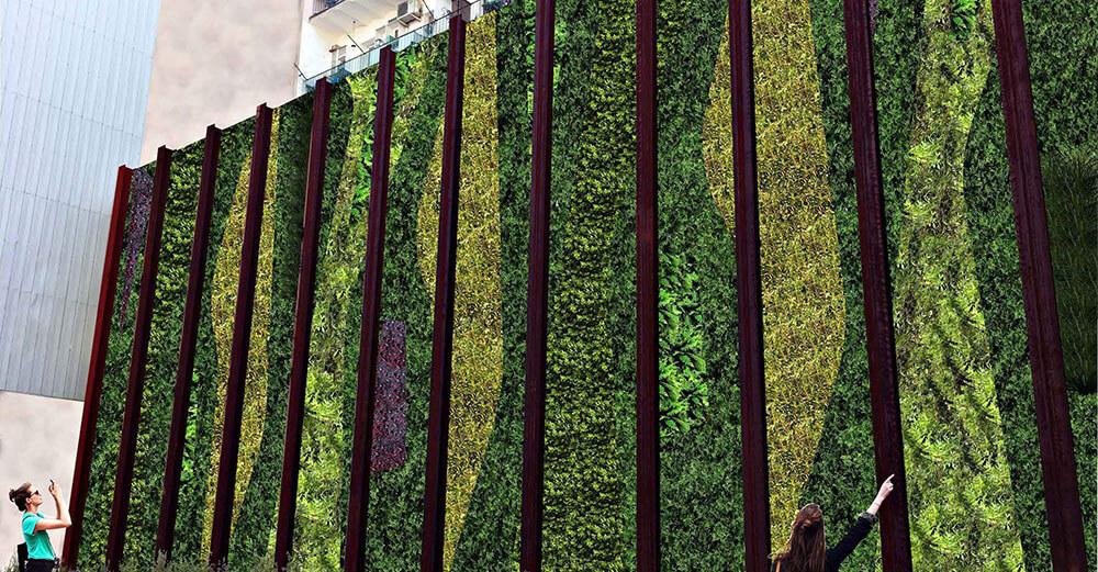 Jardín Vertical Barcelona