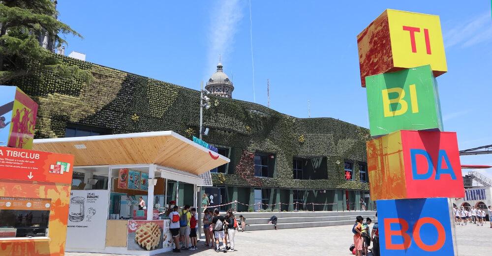 Jardín Vertical Tibidabo